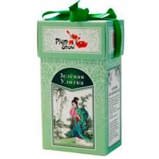 Plum snow tea Зеленая улитка