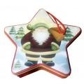 Звездочка для чая, конфет - Санта Клаус