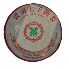 Пуэр Ци Бин из Менхая блин - 357г