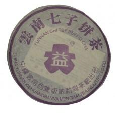 Пуэр Менхайский черносливовый блин - 357г